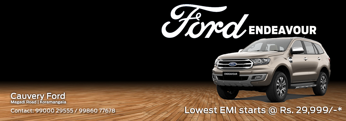 Ford Showroom Bangalore | Cauvery Ford Car Dealers